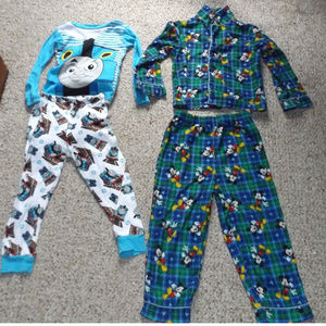 Other - Mickey Mouse and Thomas The Train Pajamas